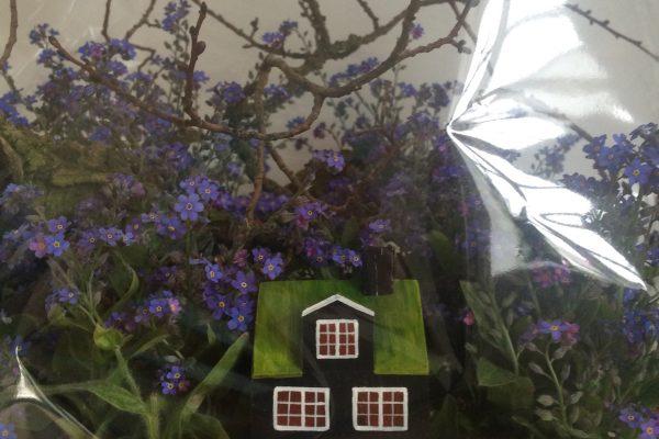 Træhuse i gavefolie