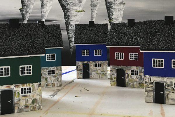 Nye huse med tagpap