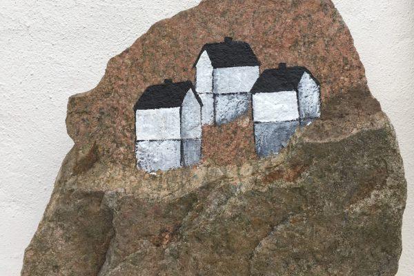 Huse på en sten