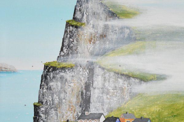 Huse på klippen - 60*80